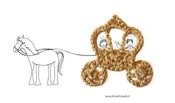 Haakpatroon Gouden Koets