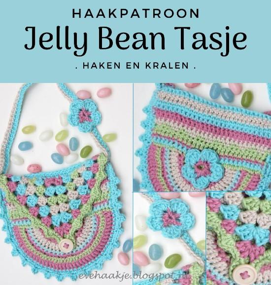Haakpatroon Jelly Bean Tasje