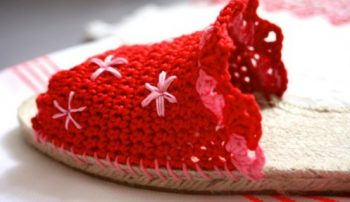 Haakpatroon Espadrilles Slippers