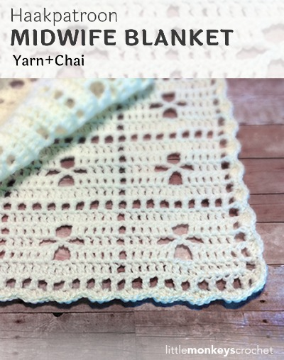 Haakpatroon Midwife Blanket Haken