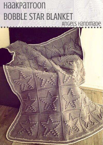 Haakpatroon Bobble Star Blanket Haken