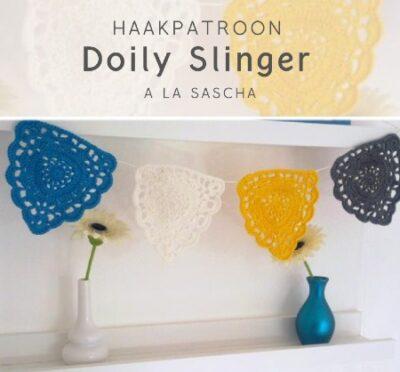 Haakpatroon Doily Slinger haken