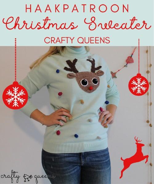 Haakpatroon Kerst trui