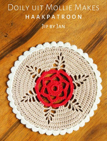 Haakpatroon Doily uit Mollie Makes