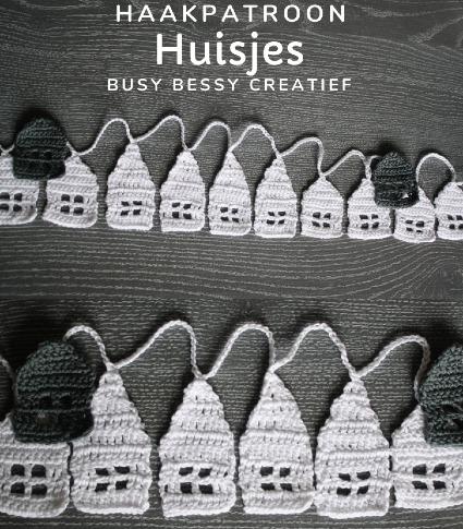 Haakpatroon Huisjes Haken