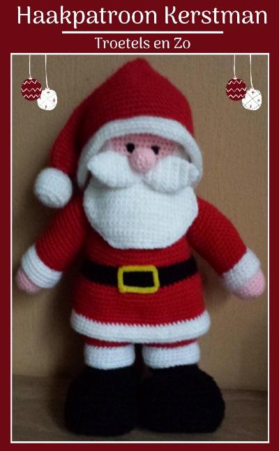 Haakpatroon Kerstman Haken
