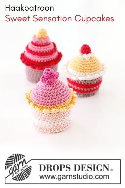 Haakpatroon Sweet Sensation Cupcakes