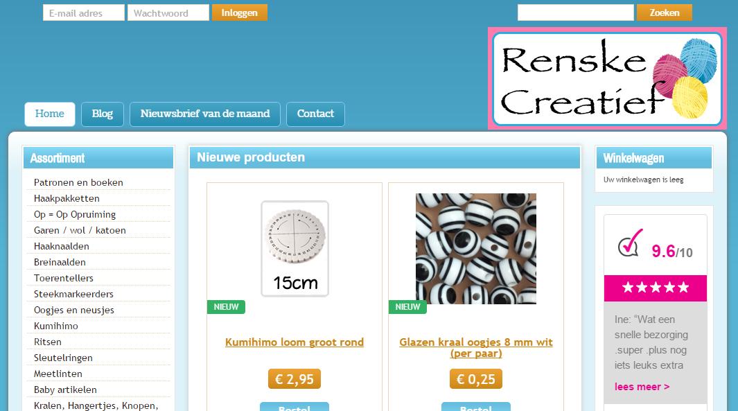 review renske creatief