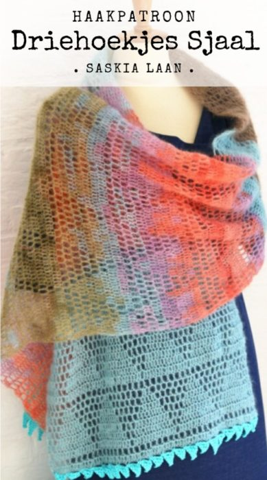 Haakpatroon Driehoekjes Sjaal