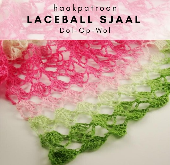 Haakpatroon Laceball Sjaal haken