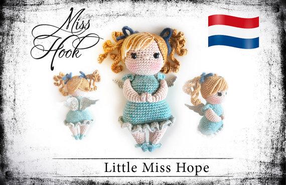 Haakpatroon Little Miss Hope Beschermengel