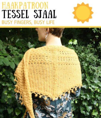 Haakpatroon Tessel Sjaal