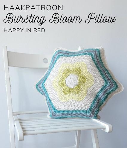 Haakpatroon Bloom Pillow Haken