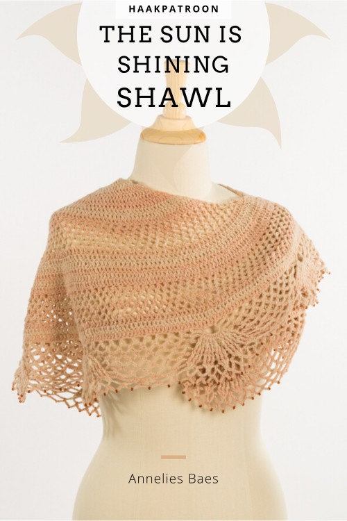 Haakpatroon The Sun is Shining Shawl