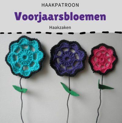 Haakpatroon Voorjaarsbloemen Haken