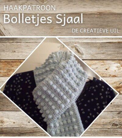 Haakpatroon Bolletjes Sjaal Haken