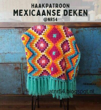 Haakpatroon Mexicaanse Deken Haken