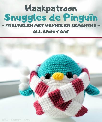Haakpatroon Snuggles de Pinguïn Haken