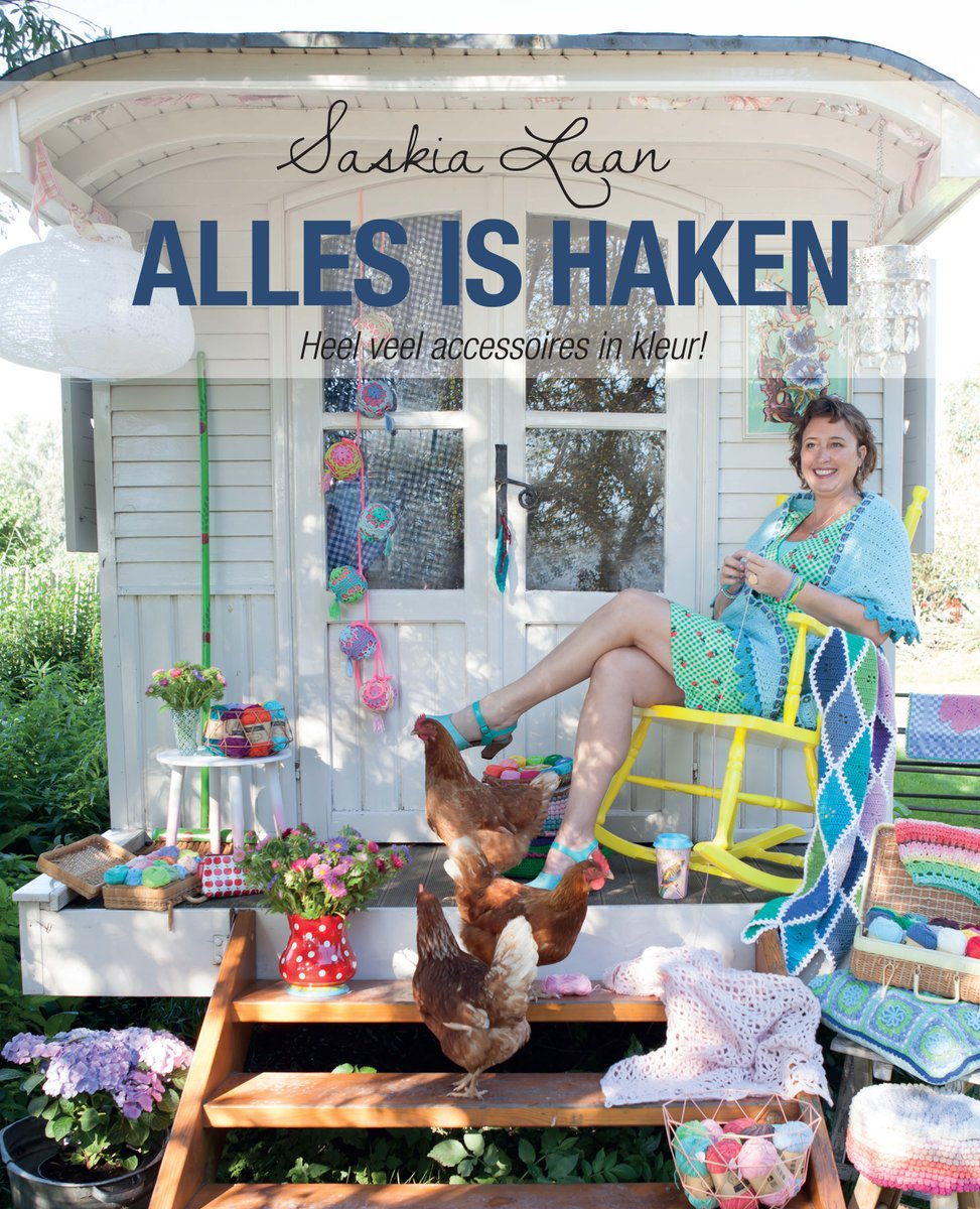 Review: Boek Alles is Haken – Saskia Laan