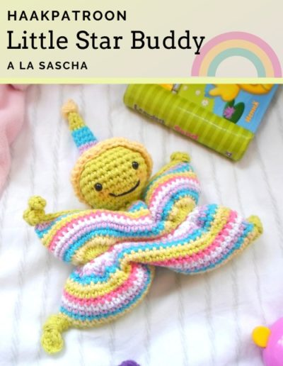 Haakpatroon Little Star Buddy