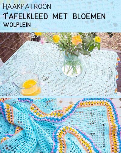 Haakpatroon Tafelkleed met Bloemen