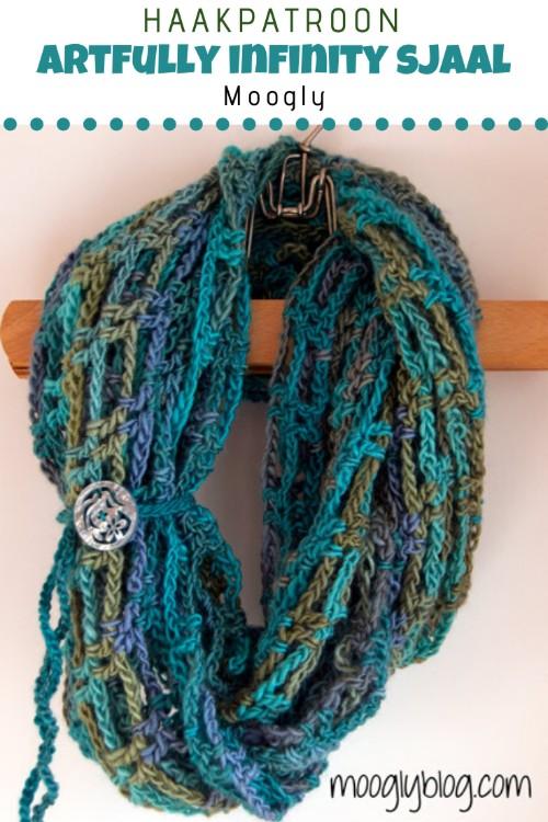 Haakpatroon Artfully Infinity Sjaal