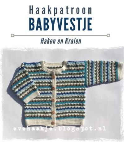 Haakpatroon Babyvestje haken