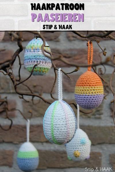 Haakpatroon Paaseieren haken Pasen