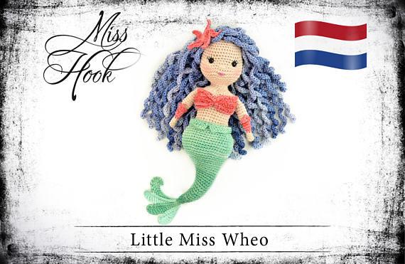 Haakpatroon Little Miss Zeemeermin