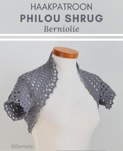 Haakpatroon Philou Shrug Haken