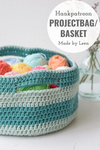 Haakpatroon Projectbag Basket