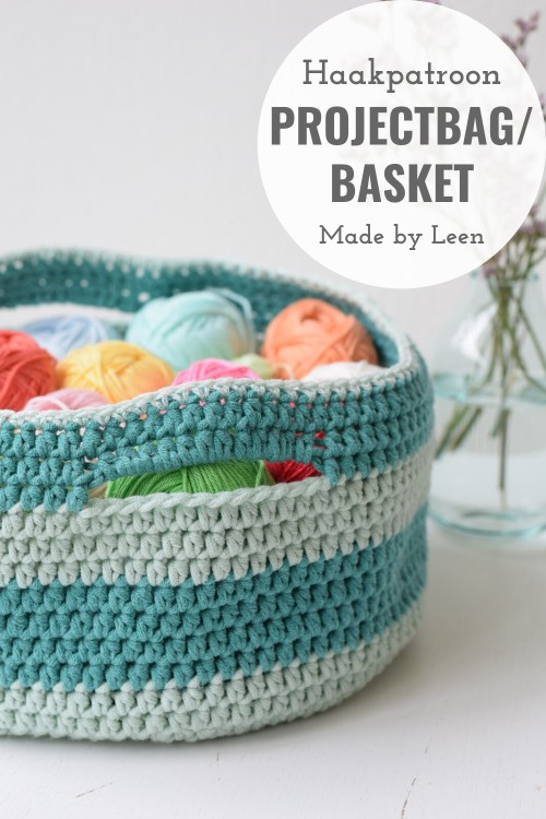 Haakpatroon Projectbag Basket