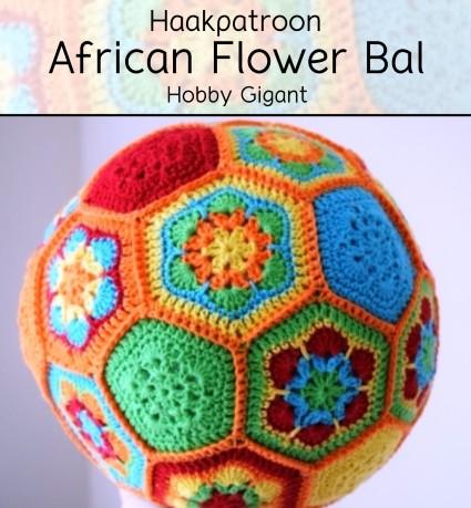 Haakpatroon African Flower Bal