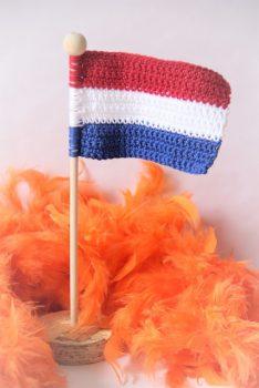Haakpatroon Nederlandse Vlag
