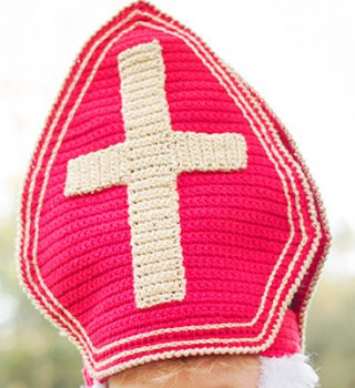Haakpatroon Mijter Sinterklaas