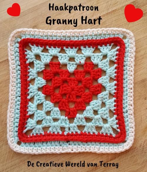 Haakpatroon Granny Hart Haken