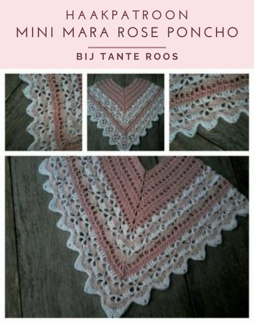 Haakpatroon Mini Mara Rose Poncho
