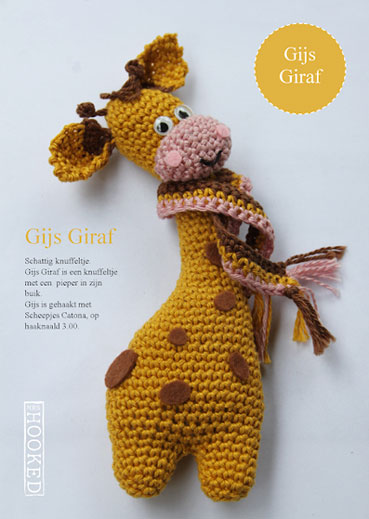 Haakpatroon Gijs Giraf