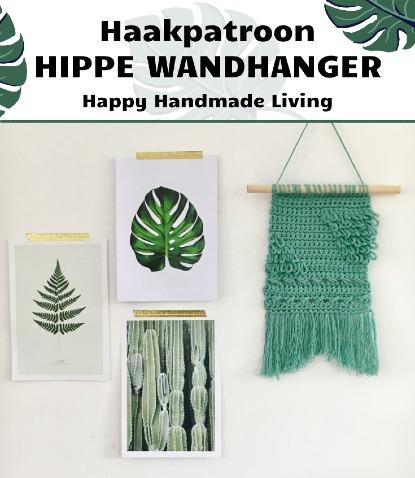 Haakpatroon Hippe Wandhanger haken