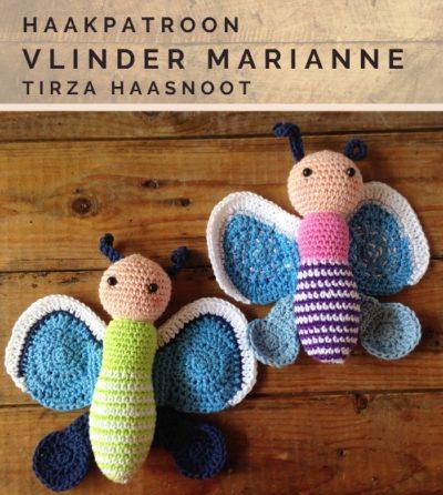 Haakpatroon Vlinder Marianne