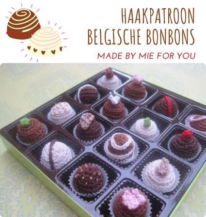 Haakpatroon Belgische Bonbons