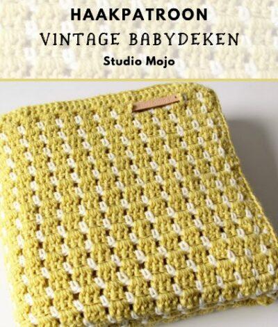 Haakpatroon Vintage Babydeken Haken