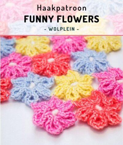 Haakpatroon Funny Flower haken