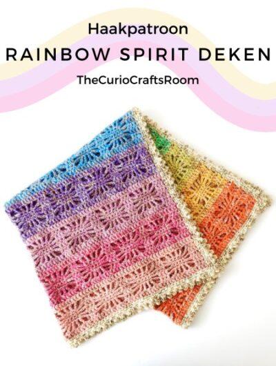 Haakpatroon Rainbow Spirit Deken Haken
