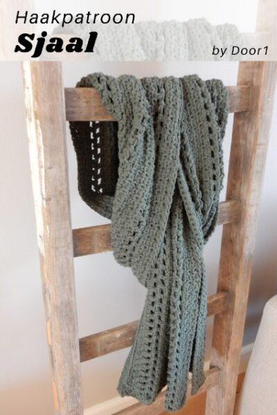 Haakpatroon Stoere Sjaal Haken
