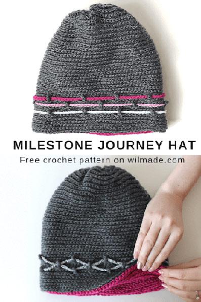 Haakpatroon Milestone Journey Muts
