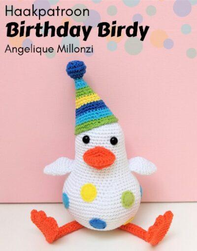 Haakpatroon Birthday Birdy