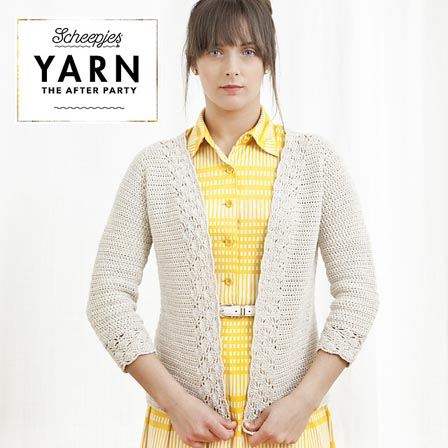 Haakpatroon Lace Cardigan