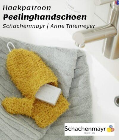 Haakpatroon Peelinghandschoen