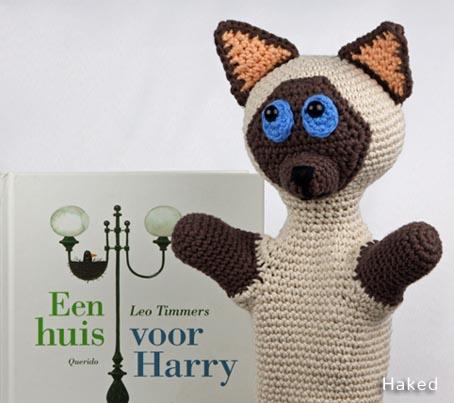 Haakpatroon Handpop Harry